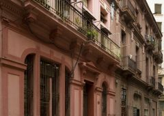 Cuba Corporate film production company colonial exterior building