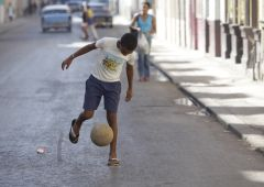 Cubana Production Service Cuba Mood Photography kid football