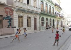 Cubana Production Service Cuba Havana Photo kids playing