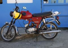 Cubana Production Service Cuba Havana Photo motorbike