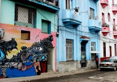 Cubana Production film movie Service Cuba Habana Photo street art