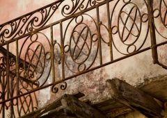 steel railing balcony