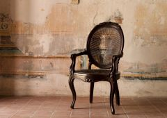 old wood chair havana