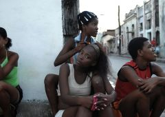 young kids in the streets of havana