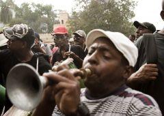 street trumpeth musician