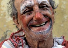 man clown havana cuba