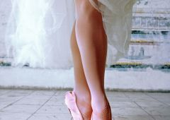 ballet shoes dancer
