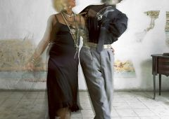 cuban couple dancing
