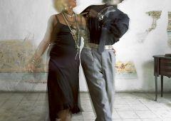 cuban couple dancing