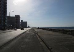 street by the ocean