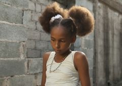 young cuban girl portrait