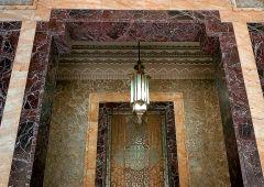 stone front door