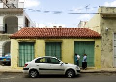 Cubana photo film Production Service Cuba Old Havana exterior building