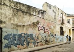 Cubana photo film Production Service Cuba Old Habana exterior building