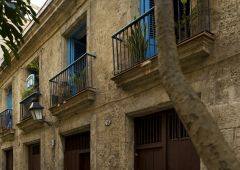 Cubana photo film Production Service Cuba Old Habana exterior building