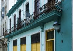 Cubana photo film Production Service Cuba Old Habana exterior building oreilly