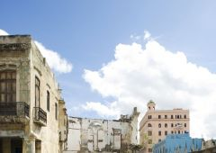 Cubana photo film Production Service Cuba Old Habana exterior building prado