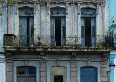 Cubana photo film Production Service Cuba Old Habana exterior building progreso