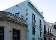 Cubana photo film Production Service Cuba Old Habana exterior building san ignacio