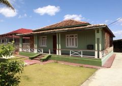 Green woodenhouse